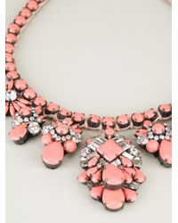 Shourouk | Pink Holy Necklace | Lyst