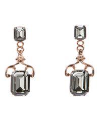 Tom Binns - Pink Drop Earrings - Lyst