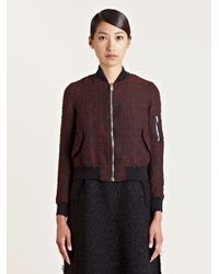 Yang Li - Black Womens Ma1 Jacket - Lyst