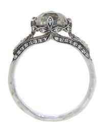 Cathy Waterman | Metallic Moghul Diamond Ring | Lyst