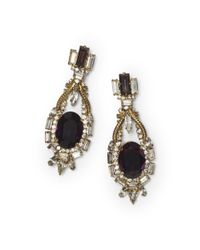 Club Monaco - Black Erickson Beamon Earrings - Lyst