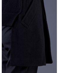 Comme des Garçons - Black High Low Hem Jacket - Lyst