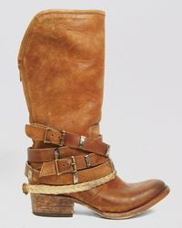 Freebird by Steven - Brown Tall Boots Drover - Lyst
