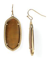 Kendra Scott | Metallic Elle Earrings | Lyst