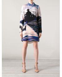Mary Katrantzou | Multicolor Printed Blouse Dress | Lyst