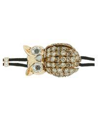 Pippo Perez - Metallic Diamond Owl Bracelet - Lyst