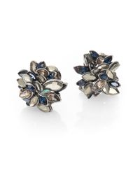Alexis Bittar - Multicolor Jeweled Cluster Earrings - Lyst