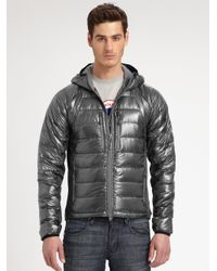 Canada Goose expedition parka online authentic - Canada goose Hybridge Lite Hoodie in Gray for Men (GRAPHITE) | Lyst