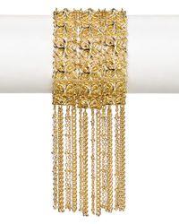 Kendra Scott - Metallic Ivy Fringe Bracelet - Lyst