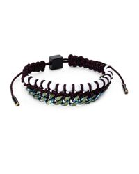 Proenza Schouler | Multicolor Bead Chain and Rope Slide Bracelet | Lyst
