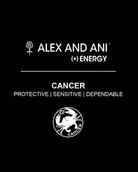 ALEX AND ANI | Metallic Cancer Bangle | Lyst