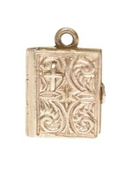 Annina Vogel | Metallic 9ct Gold Vintage Bible Charm | Lyst
