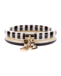 Fendi | Black Pair Of Bracelets | Lyst