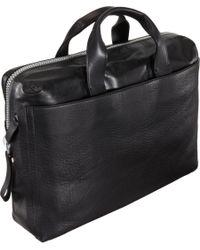 Lanvin - Black Zippered Briefcase for Men - Lyst