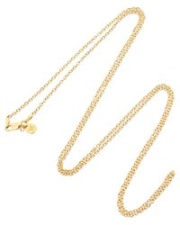 Monica Vinader - Metallic 18ct Gold Vermeil Jun Chain - Lyst