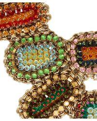 Sveva Collection - Green Elettra Necklace - Lyst
