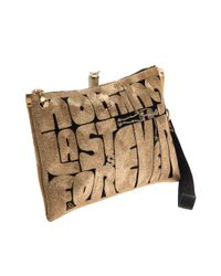Anne Grand Clement - Natural Forever Clutch - Lyst