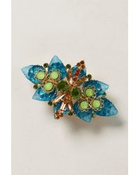 Anthropologie | Blue Victoria Brooch Barrette | Lyst