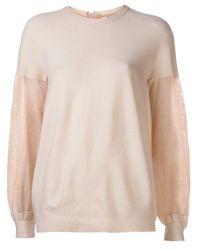 Il by Saori Komatsu   Natural Zip Pull Sweater   Lyst