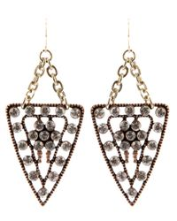Lulu Frost | Metallic Galaxy Earrings | Lyst