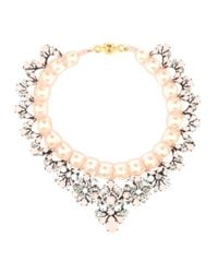 Shourouk | Metallic Marisa Virgin Embellished Necklace | Lyst