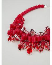 EK Thongprasert - Red Crystal Drop Necklace - Lyst
