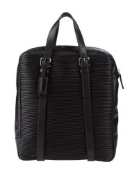 Giorgio Armani - Black Backpack Fanny Pack - Lyst