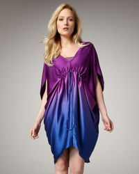Nicole Miller Artelier | Multicolor Ombre Shift Dress | Lyst
