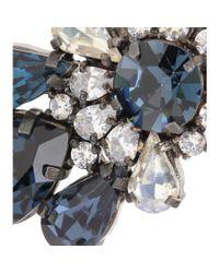 Shourouk - Multicolor Montana Crystal Embellished Earrings - Lyst