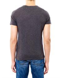 American Vintage | Gray Denver Crew-Neck T-Shirt for Men | Lyst