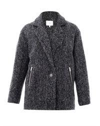 IRO - Black Franeli Cocoon Coat - Lyst