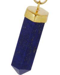 Isabel Marant - Metallic New Day Gold-Tone Lapis Lazuli Earrings - Lyst