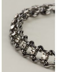 Mawi - Metallic Mawi Ladder Chain Necklace - Lyst