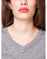 Maya Brenner Designs - Metallic Shark Tooth Pendant - Lyst