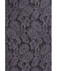 Lida Baday | Gray Slim Lace Skirt | Lyst