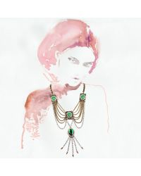 Lulu Frost - Green Immortality Necklace - Lyst