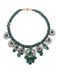Shourouk | Green Shourouk Holy Necklace | Lyst