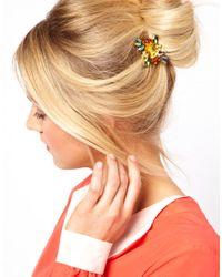 Dogeared - Multicolor Asos Rectangle Hair Brooch - Lyst