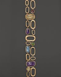 Marco Bicego - Yellow 18K Gold Murano Link Double Row Bracelet - Lyst