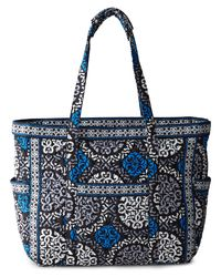 Vera Bradley | Blue Canterberry Cobalt Get Carried Away Tote | Lyst