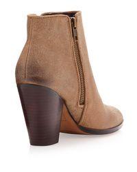 Dolce Vita | Beige Hayla Suede Ankle Boot Black | Lyst