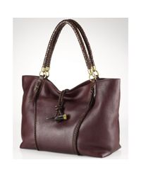 Lauren by Ralph Lauren | Brown Olgevie Tote | Lyst