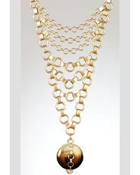 Lionette - Lionette Designs By Noa Venus Yellow Necklace - Lyst