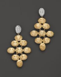 Marco Bicego | Yellow Siviglia Diamond Earrings | Lyst