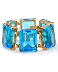 Kule | Blue Six Large Stone Bracelet | Lyst