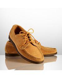 Ralph Lauren - Brown Tahoma Suede Shoe for Men - Lyst