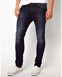 G-Star RAW - Blue 55dsl Pyrons Jeans in Skinny Fit for Men - Lyst