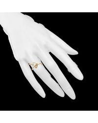 Bernard Delettrez - Metallic Lock and Key Ring in Gold - Lyst