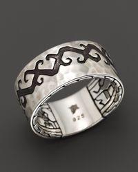 John Hardy - Metallic Dayak Sterling Silver Band Ring for Men - Lyst