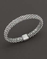 Lagos | Metallic Caviar™ Oval Rope Bracelet | Lyst